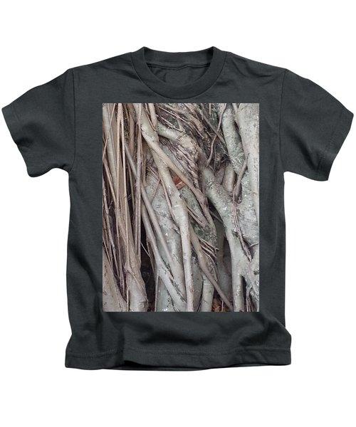 Banyan In Maui Kids T-Shirt