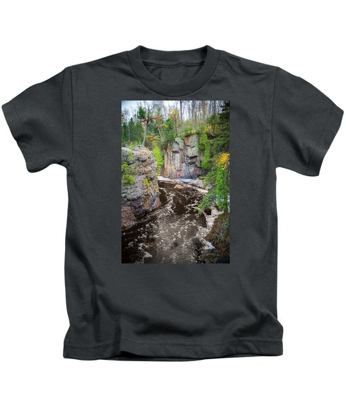 Baptism River In Tettegouche State Park Mn Kids T-Shirt