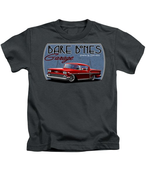 Bare Bones Impala Kids T-Shirt