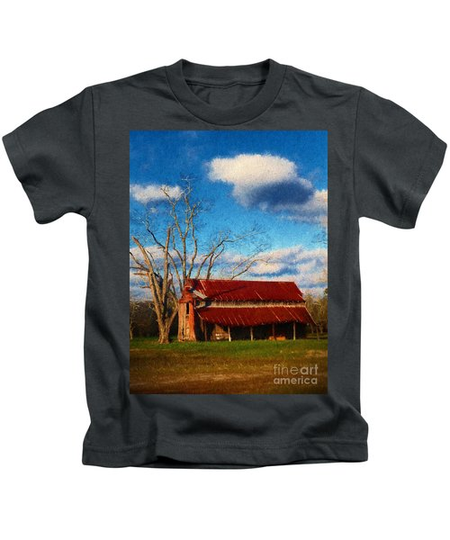 Red Roof Barn 2 Kids T-Shirt