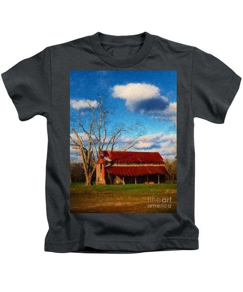 Red Roof Barn 2 Kids T-Shirt