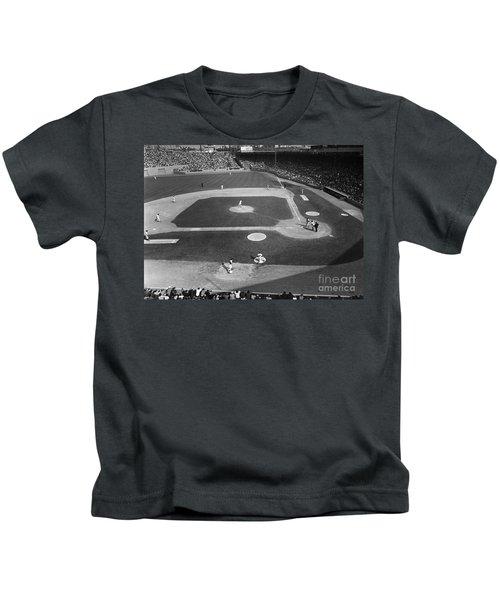 Baseball Game, 1967 Kids T-Shirt