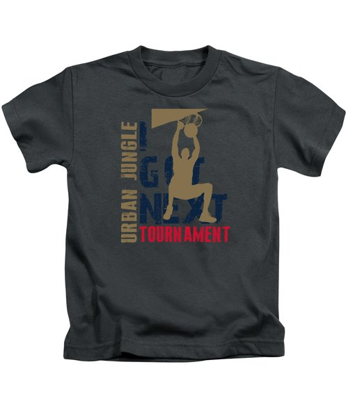 Basketball I Got Next 4 Kids T-Shirt by Joe Hamilton
