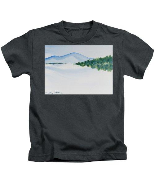 Bathurst Harbour Reflections Kids T-Shirt