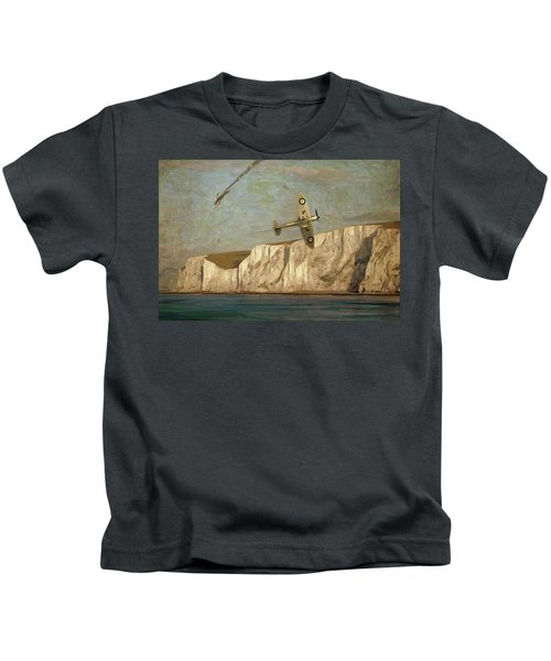 Battle Of Britain Over Dover Kids T-Shirt