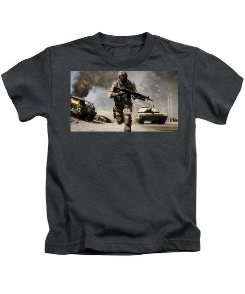 Battlefield Bad Company 2 Kids T-Shirt