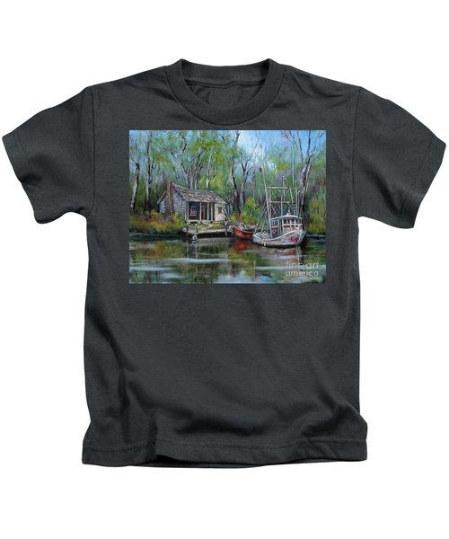 Bayou Shrimper Kids T-Shirt