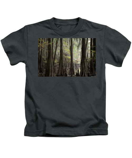 Bayou Trees Kids T-Shirt
