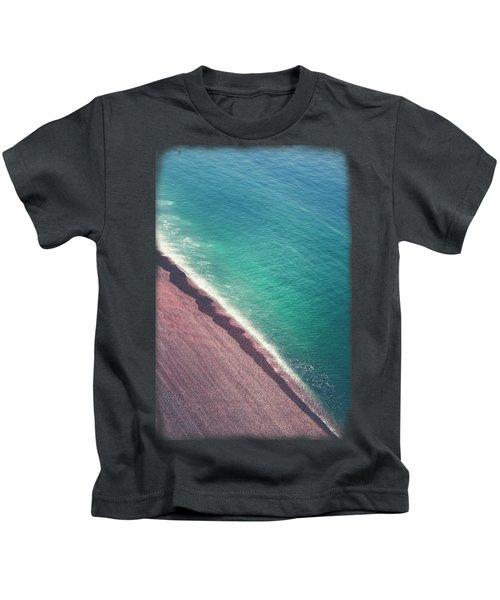 Beach Aerial Kids T-Shirt