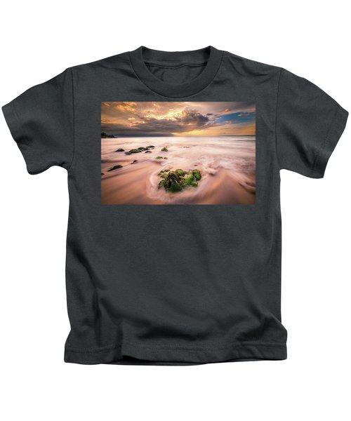 Beach At Paia Kids T-Shirt