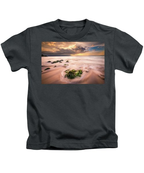 Beach At Paia Kids T-Shirt