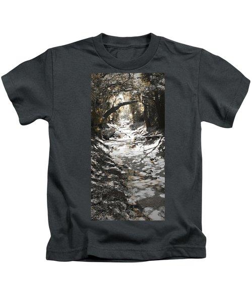 Beach Park Storm Drain Kids T-Shirt