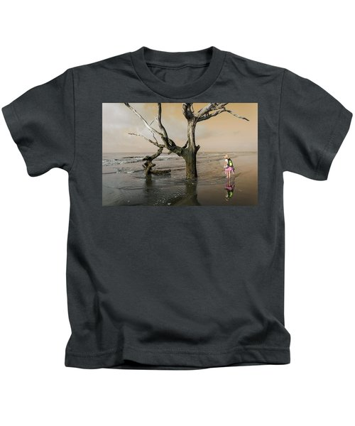 Beachcombing Kids T-Shirt