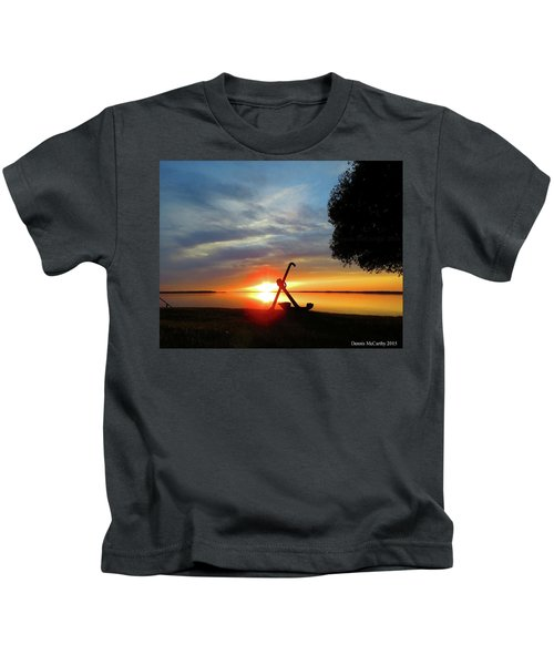 Beadles Point Sunset Kids T-Shirt