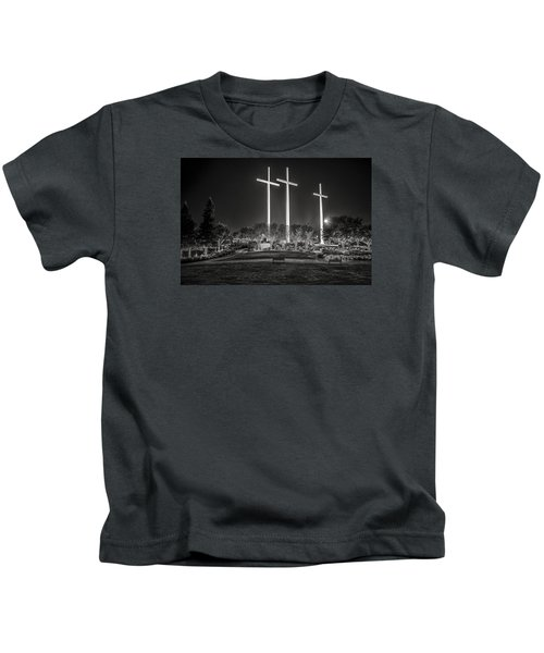 Bearing Witness In Black-and-white 2 Kids T-Shirt