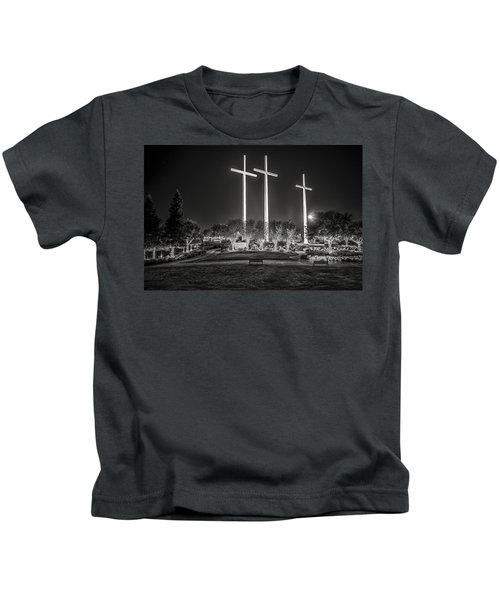 Bearing Witness In Black-and-white Kids T-Shirt