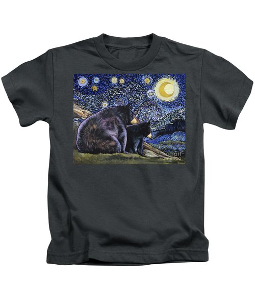 Beary Starry Nights Too Kids T-Shirt