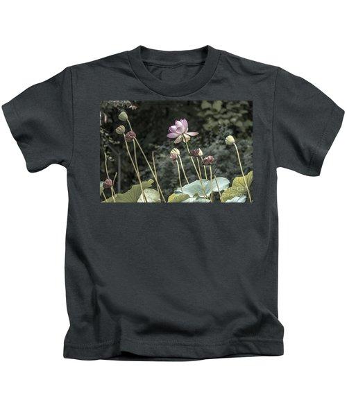 Beautiful Indian Lotus Kids T-Shirt