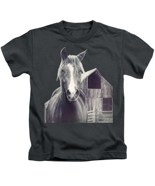Beauty And The Barn Kids T-Shirt