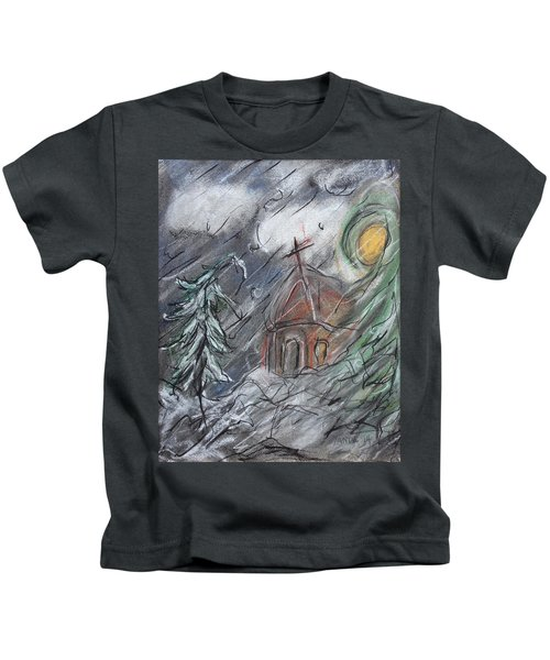 Beauty Of Winter Kids T-Shirt