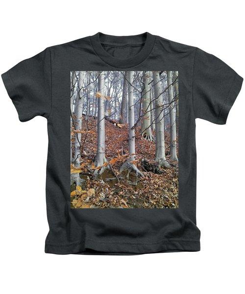 Beech Trees Kids T-Shirt