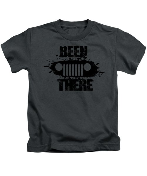 Been There In A Jeep Kids T-Shirt