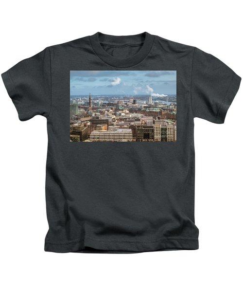 Befor A Snow Storm Hamburg Kids T-Shirt