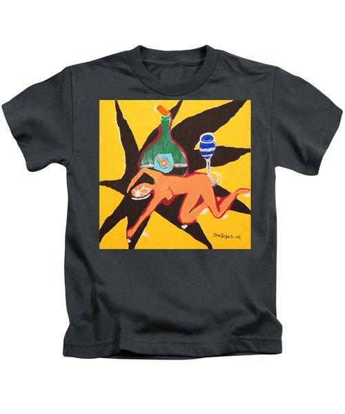 Behind The Curtain Kids T-Shirt
