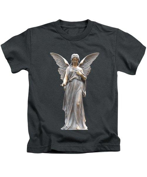 Behold I Send An Angel Before Thee I I Kids T-Shirt