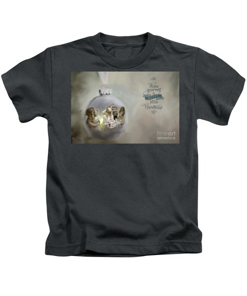 Believe In The Magic Of Christmas Kids T-Shirt