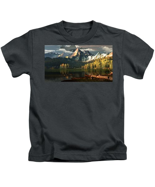 Beneath The Gilded Crowns Kids T-Shirt