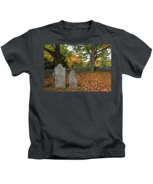 Benjamin Butler Grave Kids T-Shirt