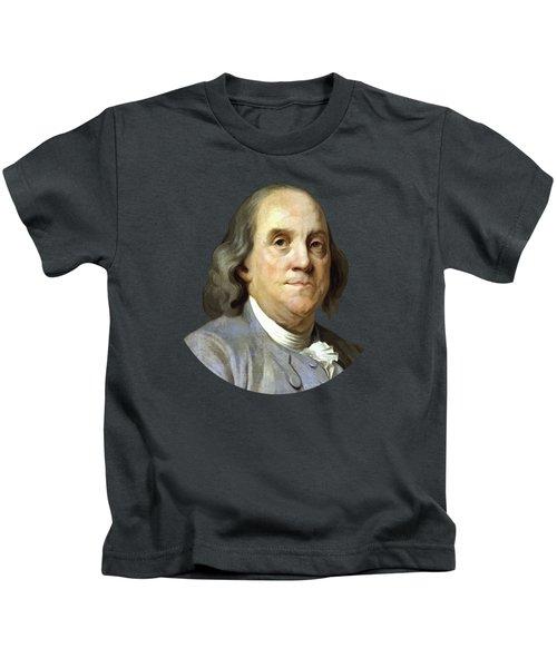 Benjamin Franklin Painting Kids T-Shirt