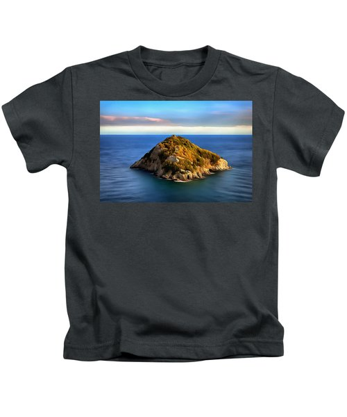 Bergeggi Island Kids T-Shirt