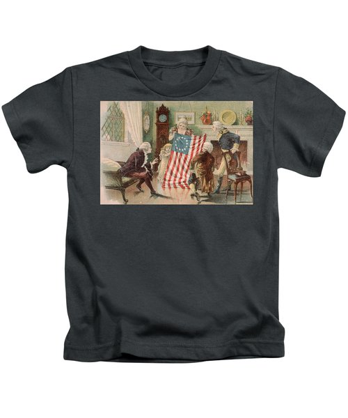 Betsy Ross And The Making Of America Kids T-Shirt
