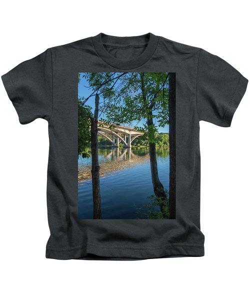 Between The Trees Kids T-Shirt