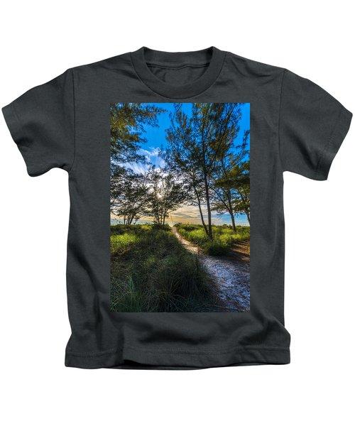 Beyond The Green Grass Kids T-Shirt