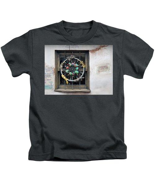 Bicycle Art Kids T-Shirt