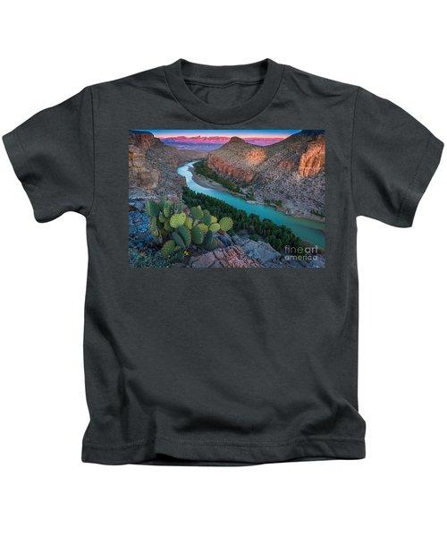 Big Bend Evening Kids T-Shirt
