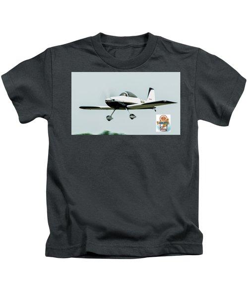 Big Muddy Air Race Number 44 Kids T-Shirt