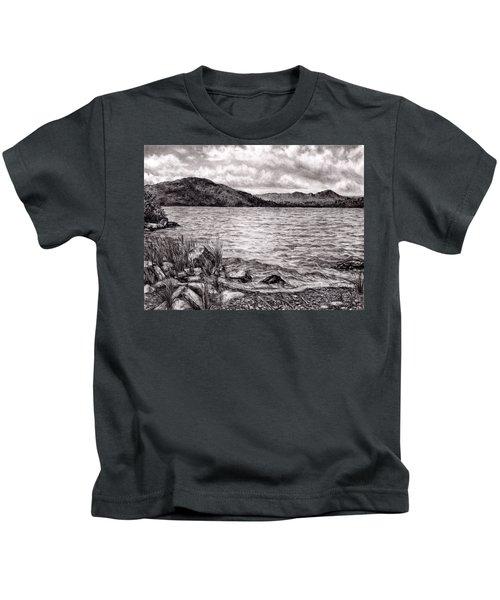 Big Wood Lake Kids T-Shirt