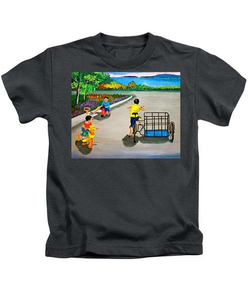 Bikes Kids T-Shirt