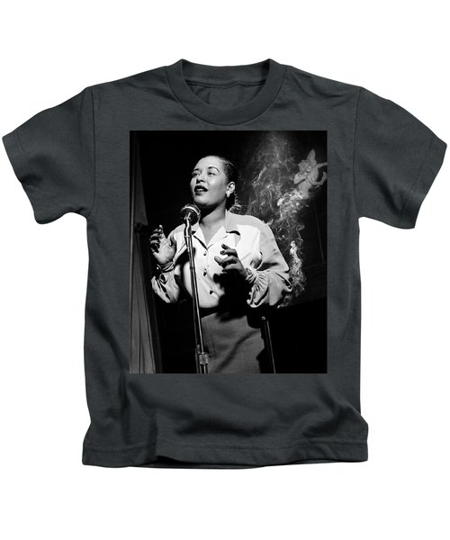 Billie Holiday  New York City Circa 1948 Kids T-Shirt