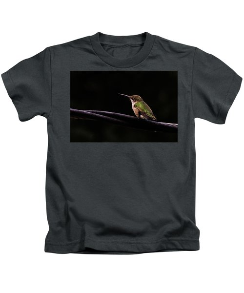 Bird On A Wire Kids T-Shirt