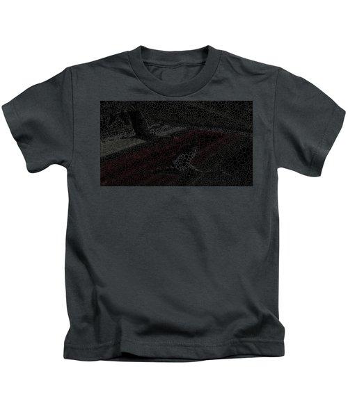 Birds Over Crops Kids T-Shirt