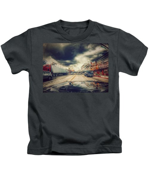 Bishop Ca.  Kids T-Shirt