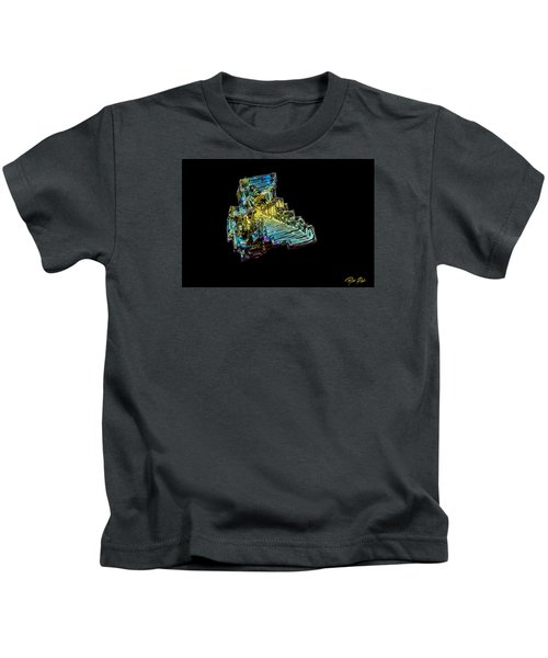 Bismuth Crystal Kids T-Shirt