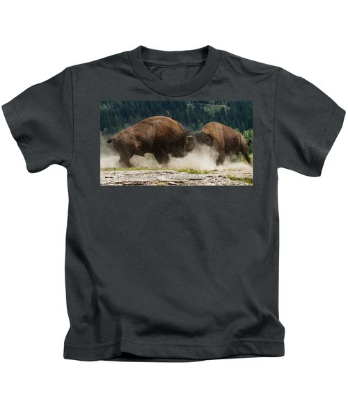 Bison Duel Kids T-Shirt