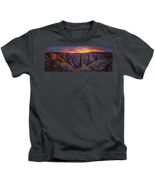 Black Canyon Of The Gunnison Kids T-Shirt