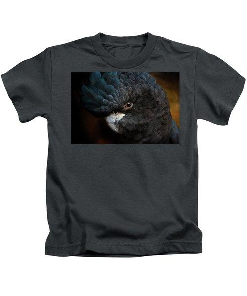 Black Cockatoo Kids T-Shirt